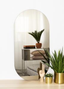 KAILA KAILA Spiegel Oval Dark Bronze 50x100 cm