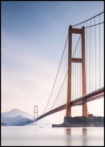 Bildverkstad Xihou Bridge & Moon Bay Poster