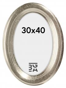 Bubola e Naibo Molly Ovaal Zilver 30x40 cm