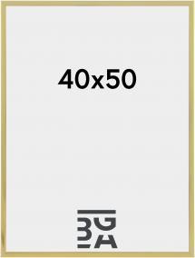 Artlink Poster Frame Aluminum Gold 40x50 cm
