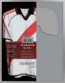 Konstlist - Nielsen Nielsen Frame Box II Zilver 60x80 cm