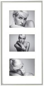Walther Galeria Collagelijst Zilver - 3 Foto's (10x15 cm)