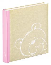 Walther Dreamtime Kinderalbum Roze - 28x30,5 cm (50 Witte pagina's / 25 bladen)