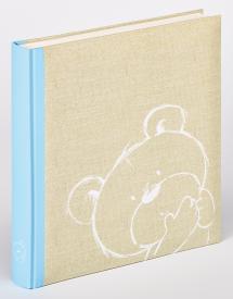 Walther Dreamtime Kinderalbum Blauw - 28x30,5 cm (50 Witte pagina's / 25 bladen)