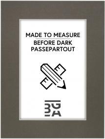 Egen tillverkning - Passepartouter Passe-partout Before Dark - Op maat gemaakt