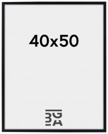 BGA Nordic Edsbyn Zwart 40x50 cm