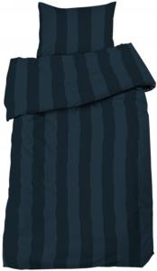 Redlunds Dekbedovertrek set Big Stripe Satin 2-delig - Marine