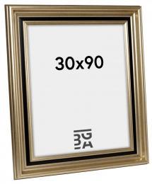 Ramverkstad Fotolijst Gysinge Premium Zilver 30x90 cm