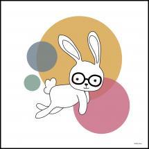Bildverkstad Space Rabbits-CASTOR Poster