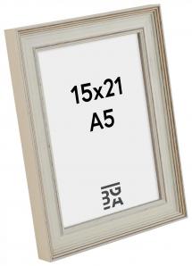 Galleri 1 Shabby Chic Wit 15x21 cm (A5)