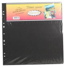 Albumbladen Timesaver Gigant - 10 Zwarte vellen