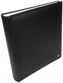 Henzo Henzo Lonzo Album - Zwart - 28x30 cm (70 Witte pagina's / 35 bladen)