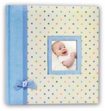 BGA Nordic Kara Babyalbum Blauw - 200 Foto's van 11x15 cm