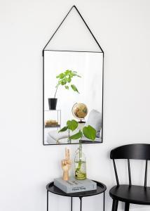 Artlink Spiegel Naima Zwart 51x76 cm