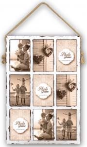 ZEP Kingscote Wit Collagelijst - 9 Foto's