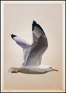 Bildverkstad Gull Poster