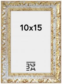 Bubola e Naibo Fotolijst Smith Goud-Zilver 10x15 cm