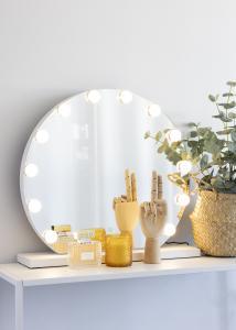 KAILA KAILA Make-up spiegel V Wit - 50x48 cm