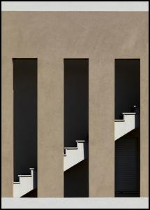 Bildverkstad Staircase Poster