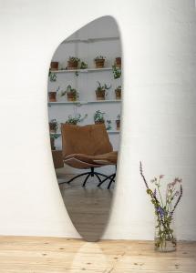 Incado Spiegel Slim Warm Grey 160x57 cm