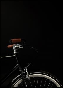 Bildverkstad Dark Bike Poster