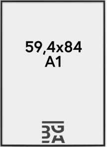 Nielsen Fotolijst Nielsen Premium Classic Mat Zwart 59,4x84 cm (A1)