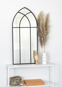 KAILA KAILA Spiegel Window - Zwart 45x100 cm