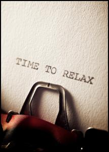 Lagervaror egen produktion Time to Relax Poster