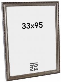 Galleri 1 Fotolijst Abisko Zilver 33x95 cm
