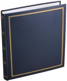 Estancia Diamant Fotoalbum Blauw 27,5x32 cm (100 Witte pagina's / 50 Bladen)