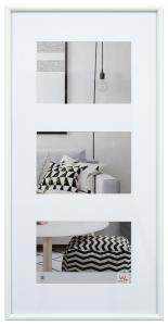 Walther Galeria Collagelijst Wit - 3 Foto's (10x15 cm)