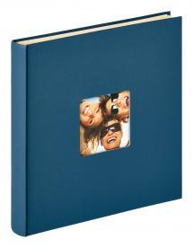 Walther Fun Zelfklevend Blauw - 33x34 cm (50 Witte pagina's / 25 bladen)