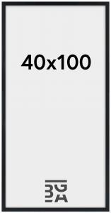 Estancia Fotolijst Stilren Acrylglas Zwart 40x100 cm