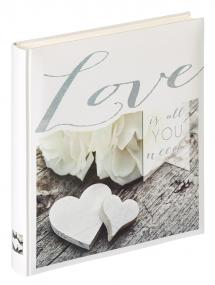 Walther Love is all you need - Fotoalbum - 28x30,5 cm (50 Witte pagina's / 25 bladen)