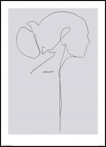 Bildverkstad Female lines II Poster
