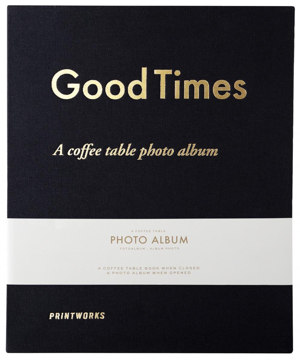 Printworks Good Times - A Coffee Table Photo Album (60 Zwarte pagina's / 30 bladen)