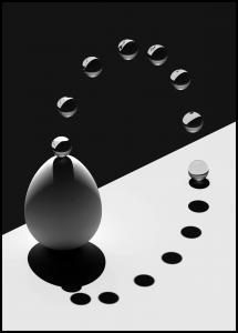Bildverkstad Arch Drops Egg Poster
