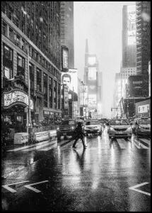 Bildverkstad Times Square Poster