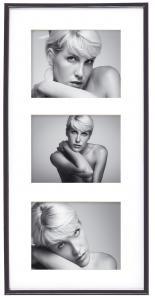 Walther Galeria Collagelijst Zwart - 3 Foto's (13x18 cm)