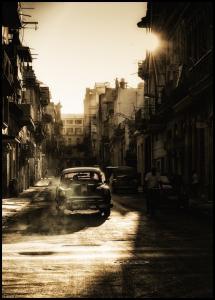 Bildverkstad Mystic morning in Havana Poster
