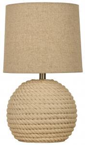 Aneta Belysning Tafellamp Sisal - Natuurgekleurd Wit