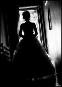 Bildverkstad Lonely Bride Poster