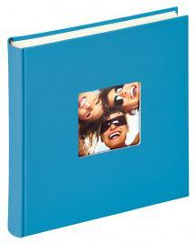 Walther Fun Album Zeeblauw - 30x30 cm (100 Witte pagina's / 50 bladen)
