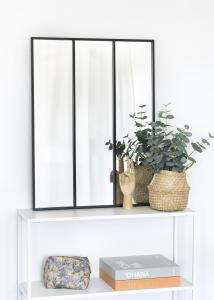 KAILA KAILA Spiegel Sections - Zwart 60x80 cm