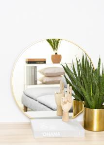 KAILA KAILA Round Mirror - Edge Gold 60 cm Ø