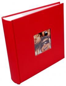 Walther Fun Album Rood - 200 Foto's van 10x15 cm