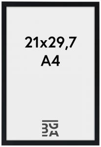 Galleri 1 Edsbyn Zwart 21x29,7 cm (A4)