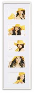 Walther New Lifestyle Collagelijst Wit - 5 Foto's (10x15 cm)