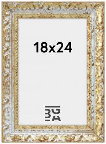 Bubola e Naibo Fotolijst Smith Goud-Zilver 18x24 cm