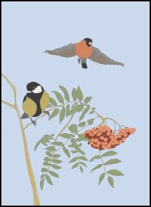 Bildverkstad An Autumn Day Poster